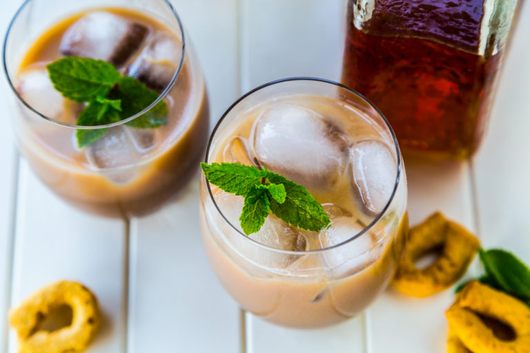 Godfather Espresso makes a wonderful Thanksgiving cocktail with espresso and whiskey | MakeItGrateful.com