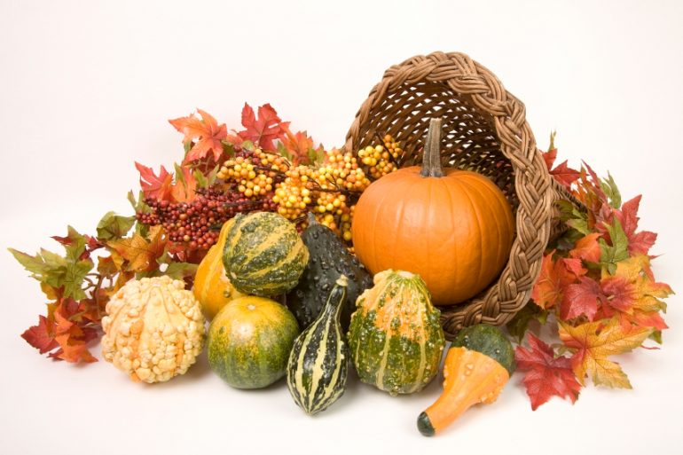 Make your own Thanksgiving cornucopia | MakeItGrateful.com