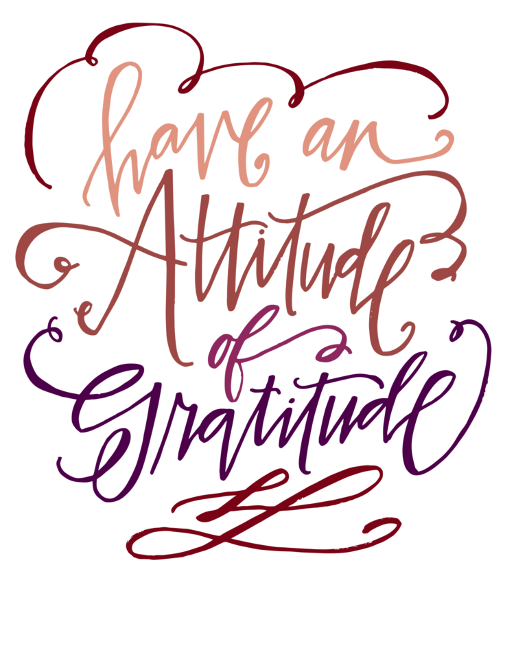 Grateful Thanksgiving Dinner Print - MakeItGrateful.com