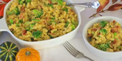 Broccoli and Bacon Mac Cheese for Thanksgiving side dish | Thanksgiving.com