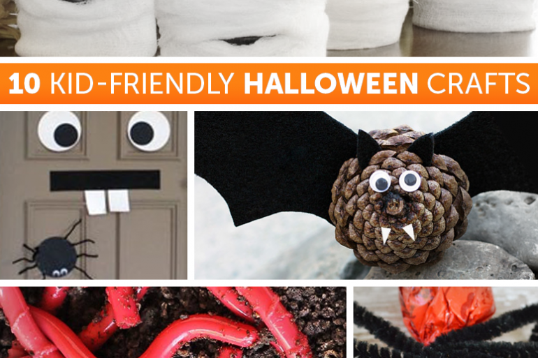 10 Kid-friendly Halloween crafts