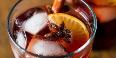 Mulled wine sangria recipe for Thanksgiving from Thanksgiving.com