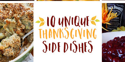 10 unique Thanksgiving side dish recipes