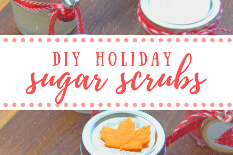 DIY Holiday Sugar Scrubs | MakeItGrateful.com