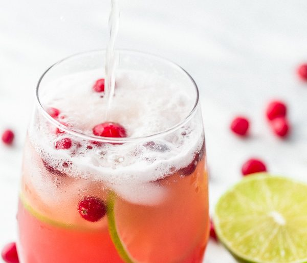 Sparkling Cranberry Pineapple Punch by Natasha's Kitchen