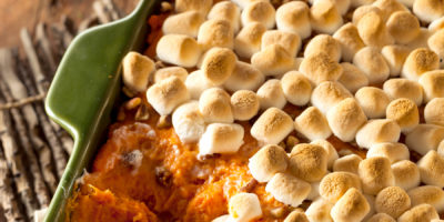 5 recipes that celebrate the combo of sweet potatoes and marshmallows