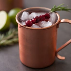 Thanksgiving Cranberry Wine Moscow Mule drink recipe (2)