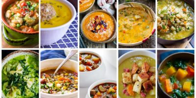 10 vegetable soups to keep you warm & toasty