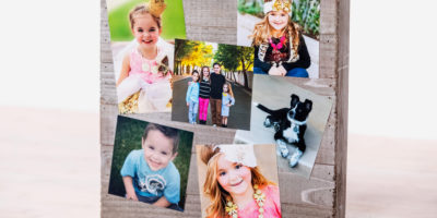 Craft Photo collage memory board