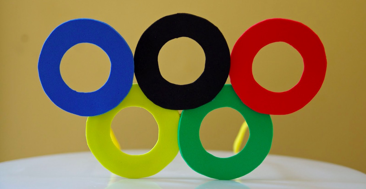 DIY Olympic eyeglasses