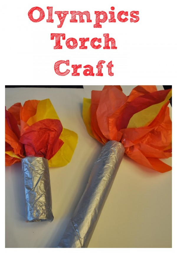 Olympics torch craft