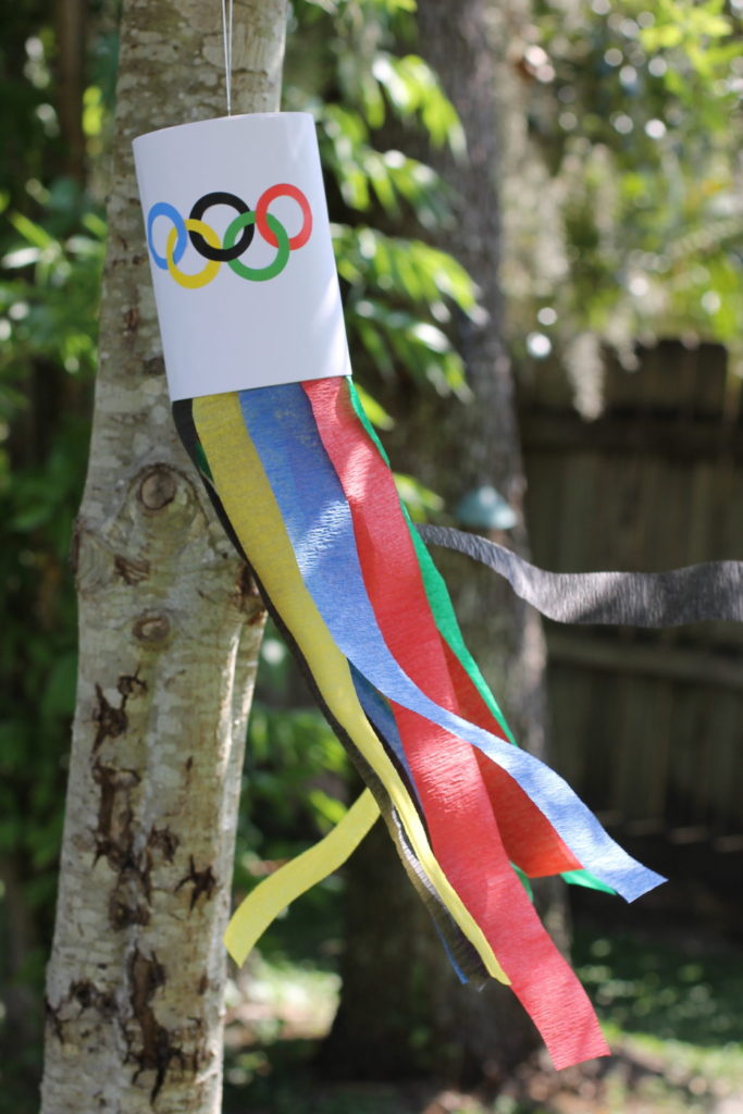 Olympic wind chime