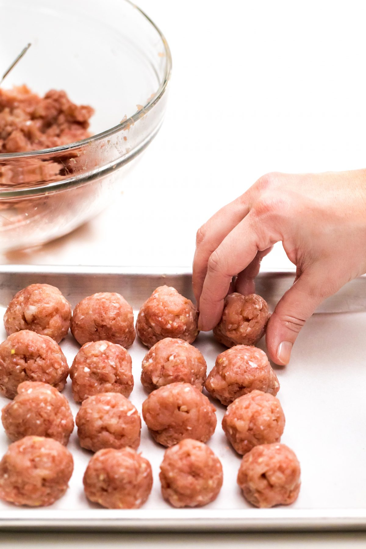 Turkey meatballs with Asian-style dipping sauce