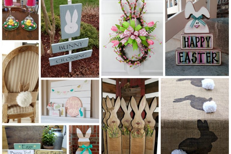 10 DIY Easter decorations for your home