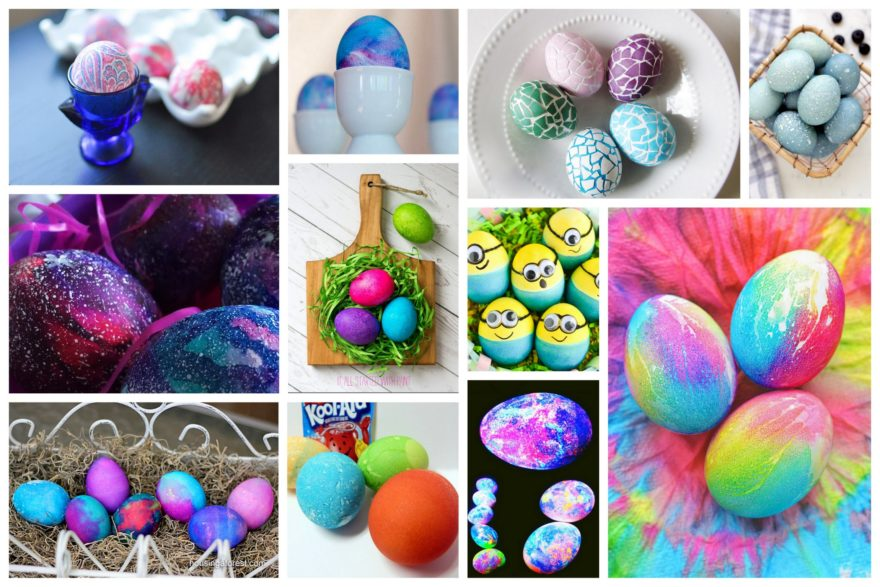 11 Unique Ideas For Dyeing Easter Eggs