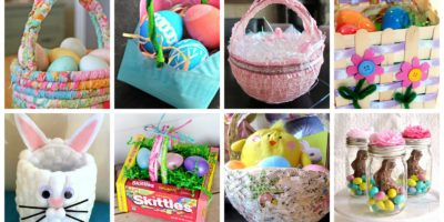 8 DIY Easter baskets that are cute and fun to make