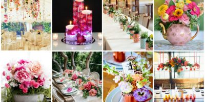 Mother's Day centerpieces