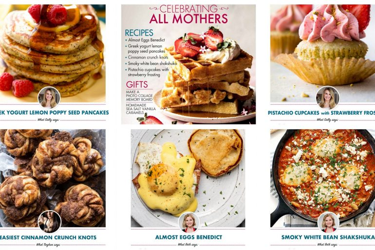 Mother's Day ecookbook 2018