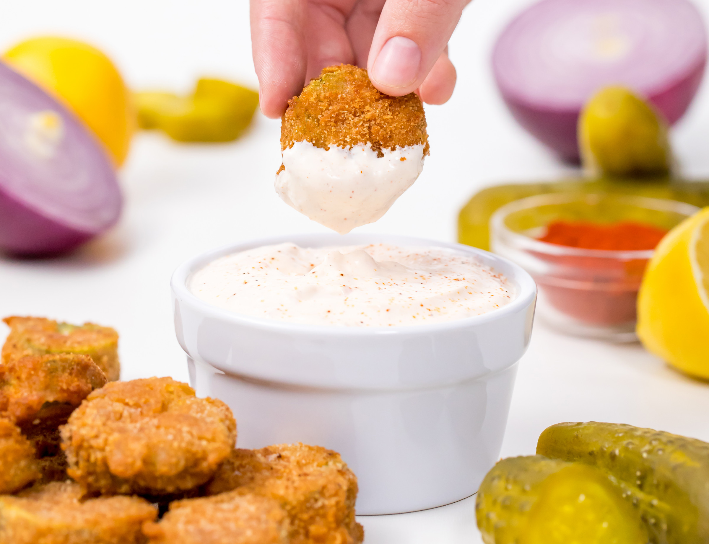 How to make fried pickles crispy again
