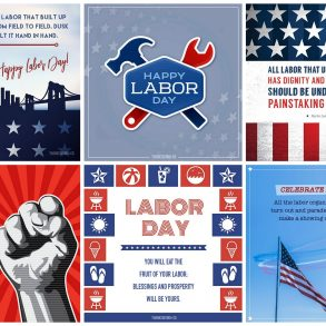 Labor Day blessings and greetings
