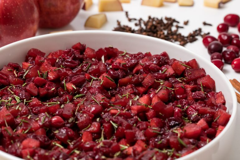5D4B6582 - Roasted Apple Cranberry Relish