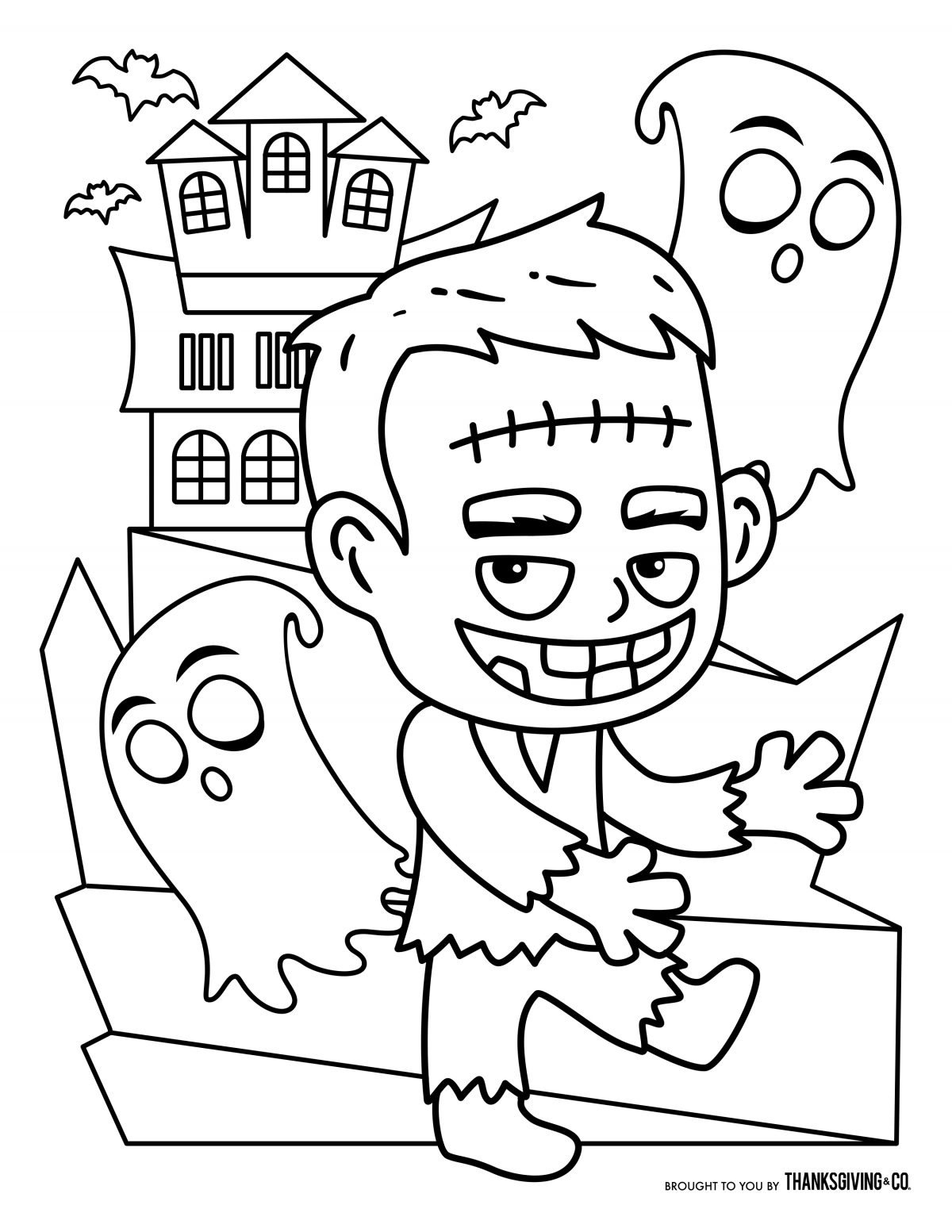 Declarative image within free printable halloween coloring pages