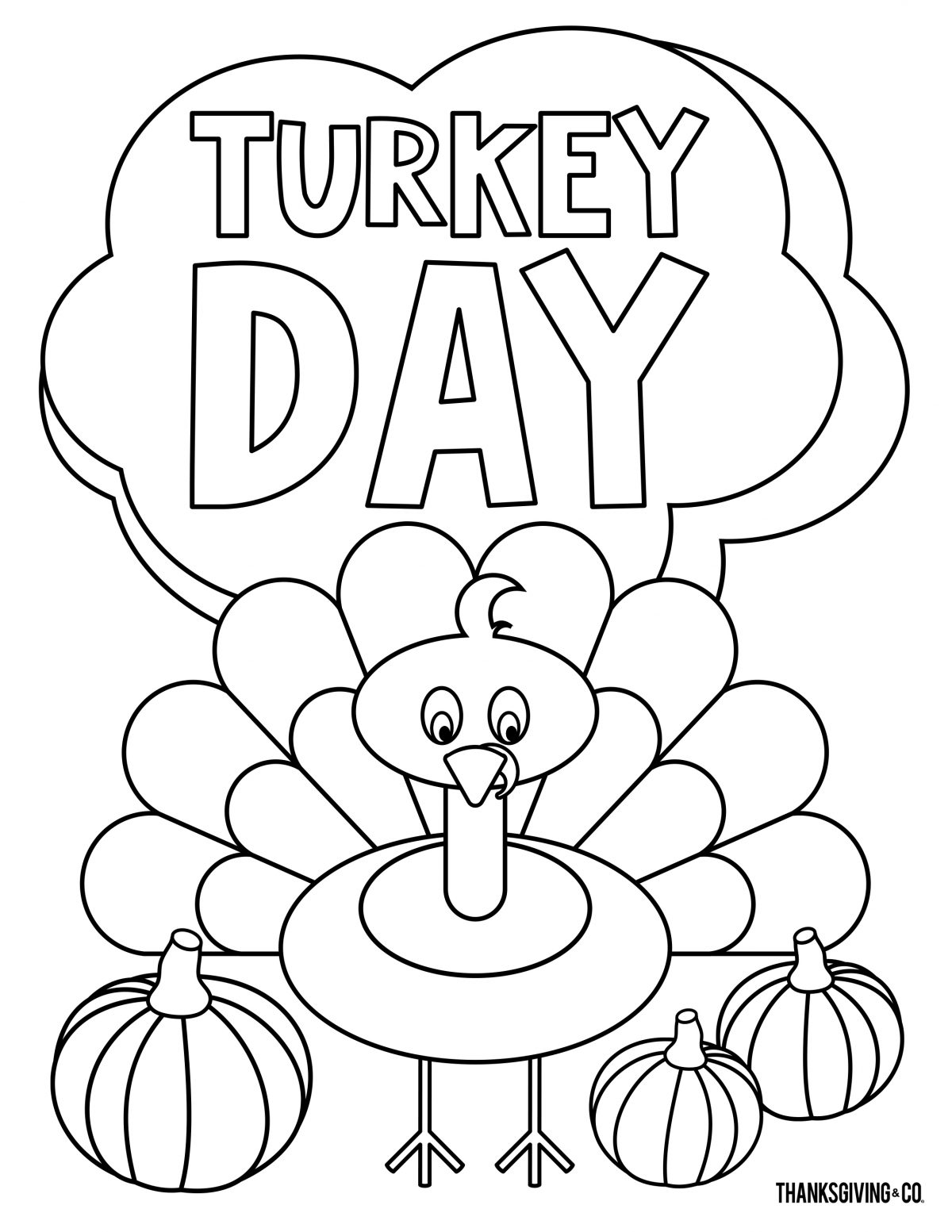 7 Thanksgiving coloring pages you can print