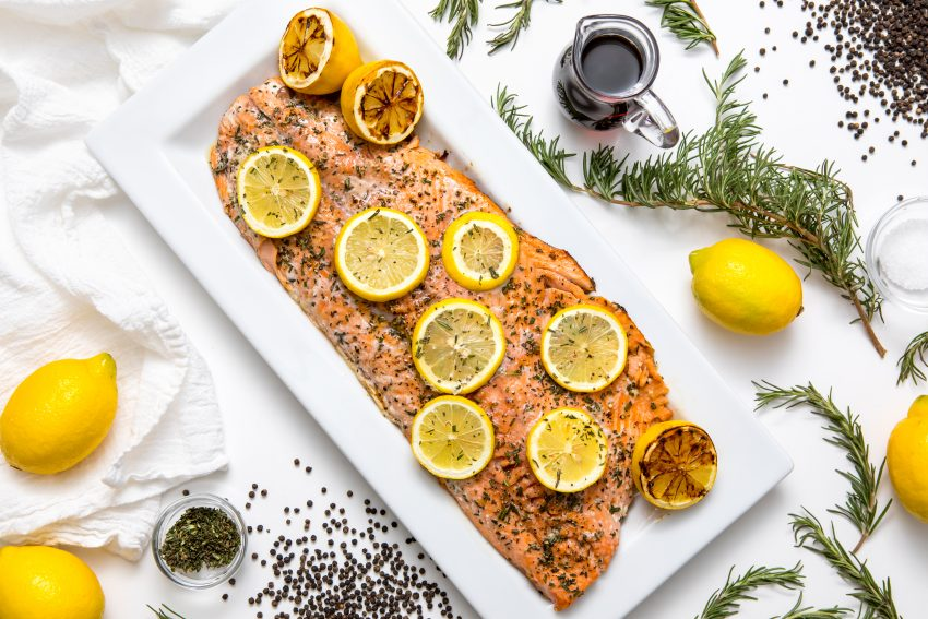 5D4B2405 - Salmon with Maple Syrup and Rosemary