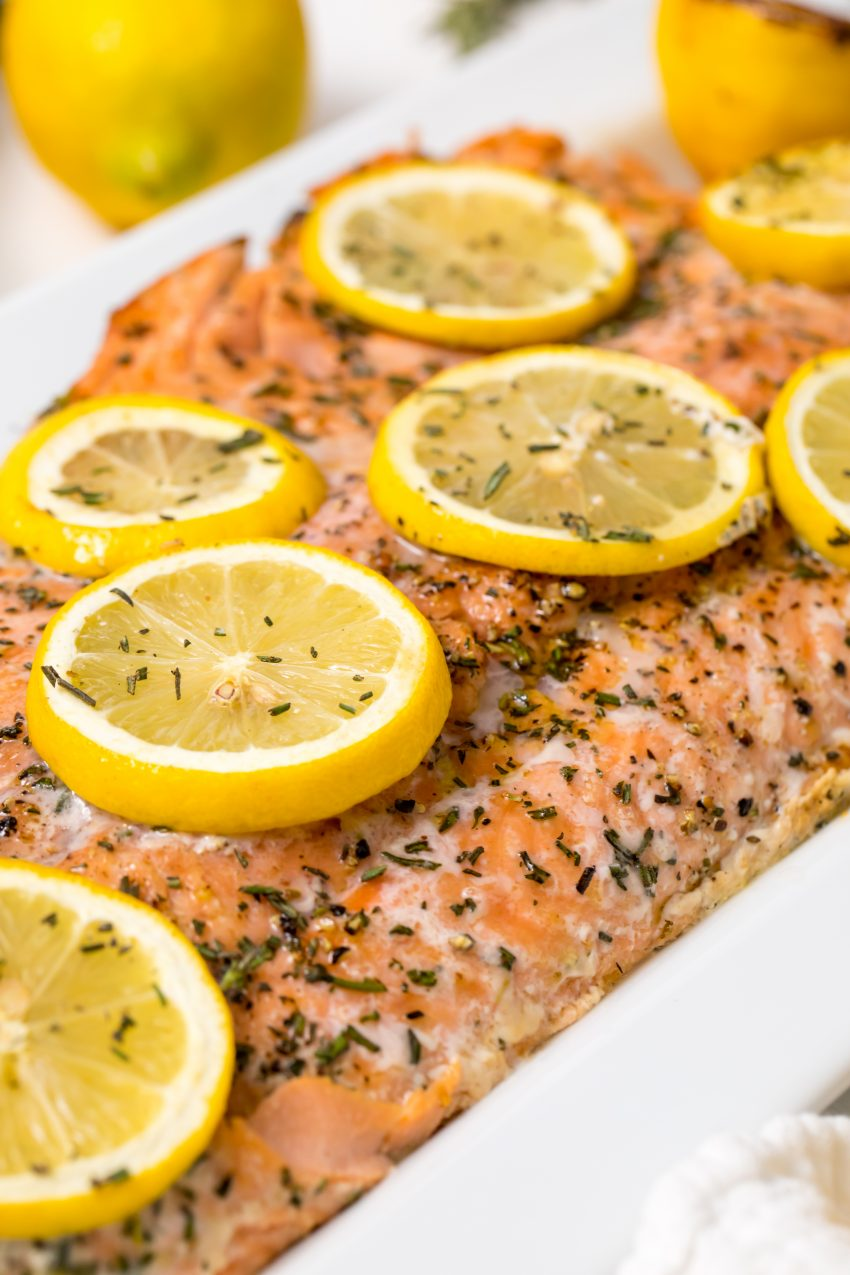 5D4B2423 - Salmon with Maple Syrup and Rosemary - grilled to perfection