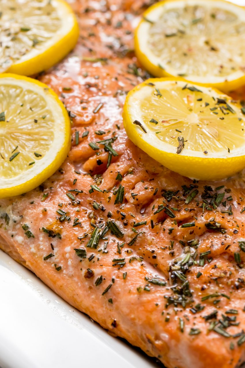 5D4B2427 - Salmon with Maple Syrup and Rosemary
