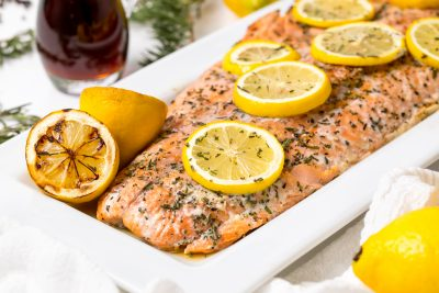 5D4B2429 - Salmon with Maple Syrup and Rosemary