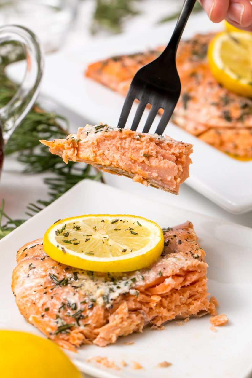 5D4B2435 - Salmon with Maple Syrup and Rosemary
