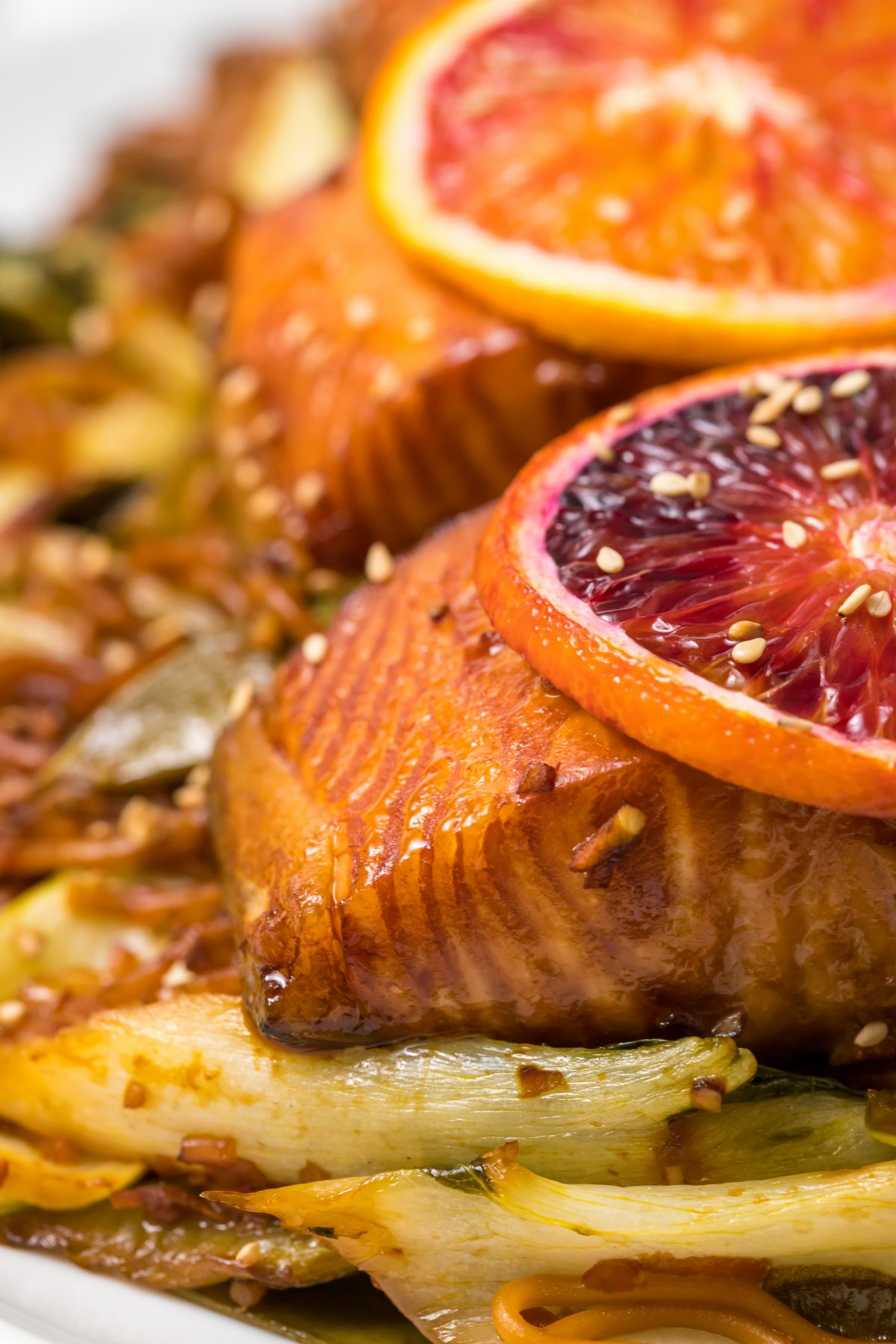 5D4B1792 - Salmon Yakisoba with Blood Oranges