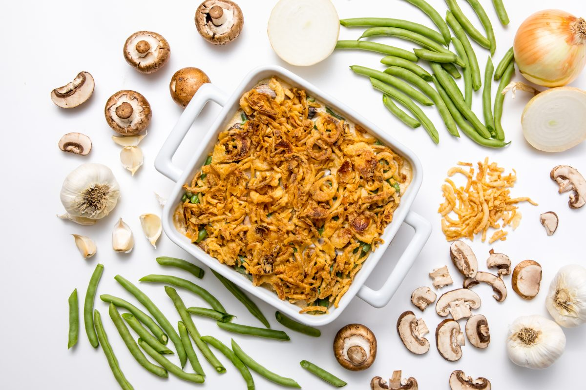 Creamiest green bean casserole