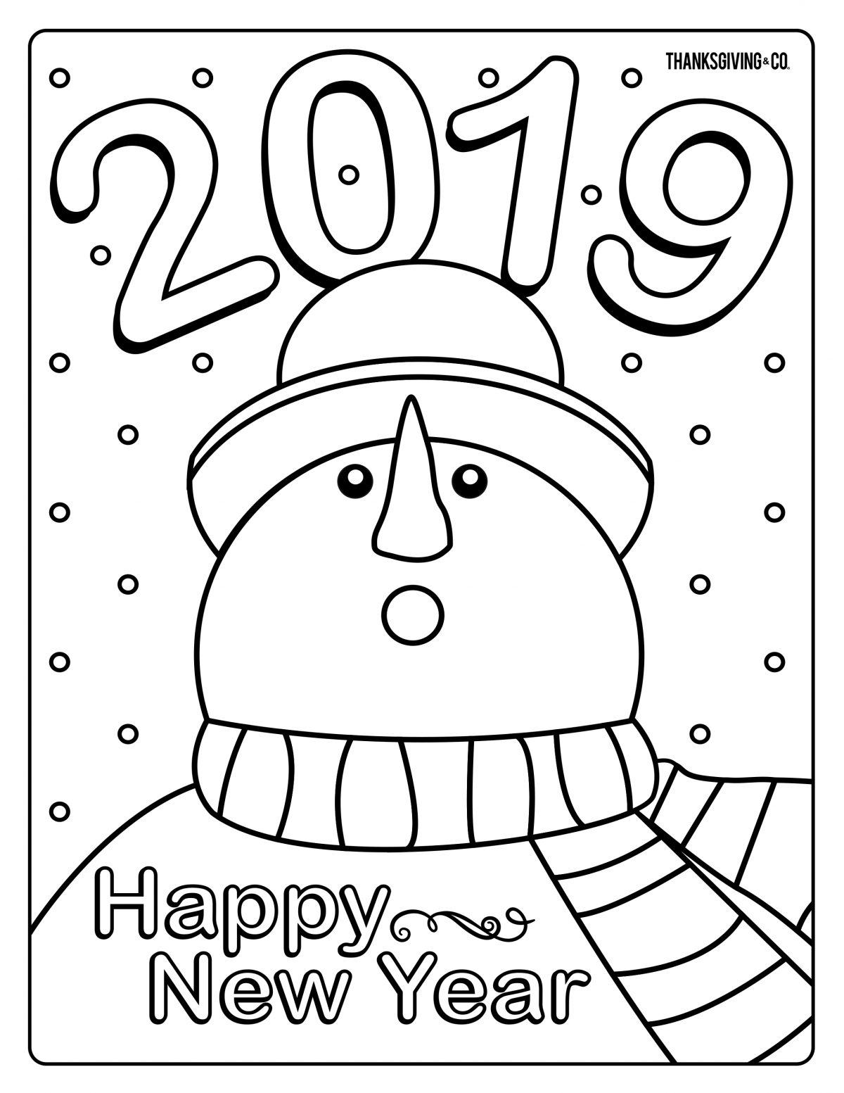 NewYear Coloring 1
