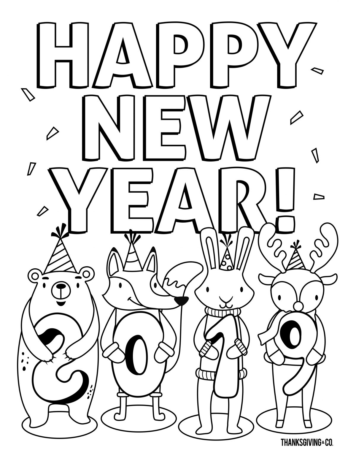 NewYear Coloring 2