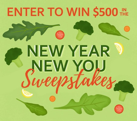 New Year, New You Sweepstakes 2019