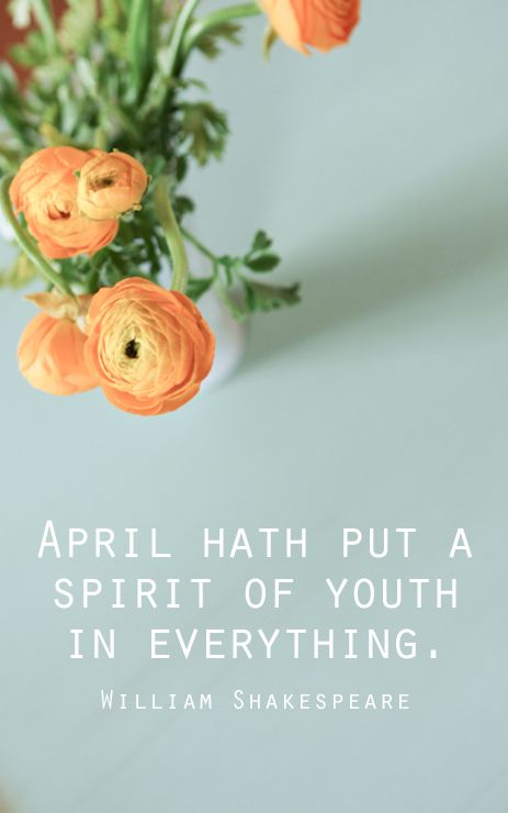 April ushers in new life and helps you see the world in a new light.