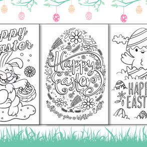 Color Easter Cards Main