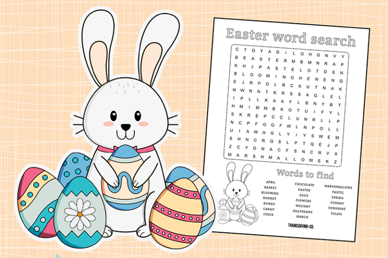picture about Free Printable Spring Word Search identify Receive a enjoyable cost-free printable Easter term glimpse