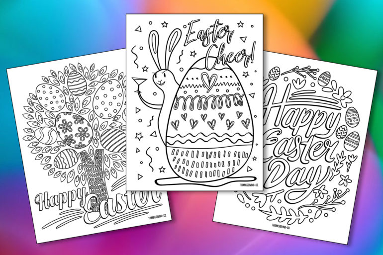 Easter Adult Coloring Main