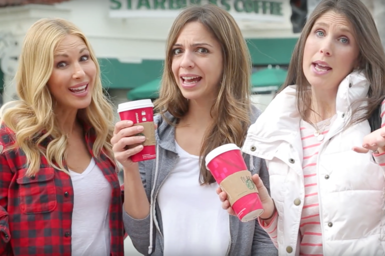 3 moms with starbucks