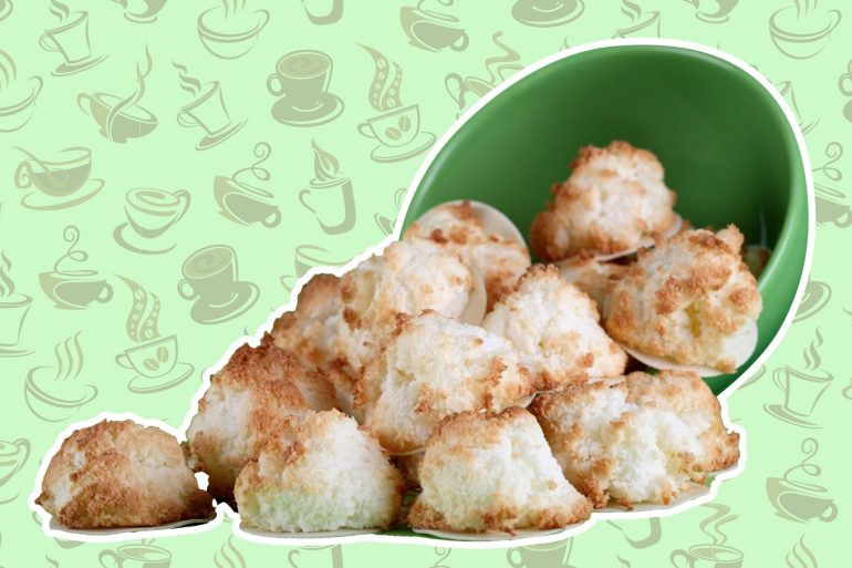 coffee coconut macaroons