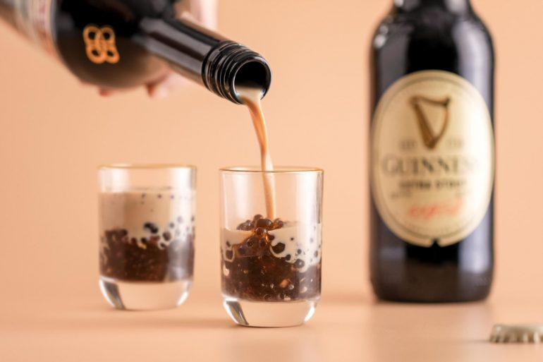 guiness beer boba beauty