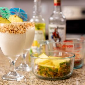 keto-pina-colada-with-pineapple