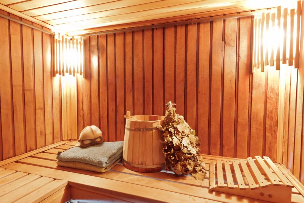 sauna sweat lodge