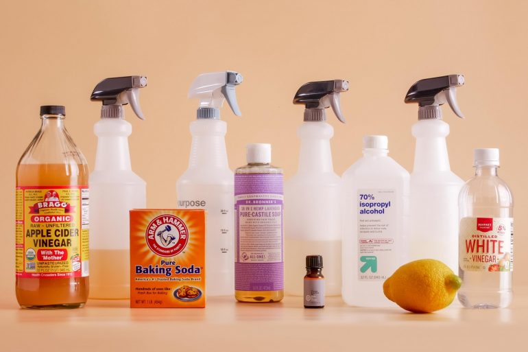 natural cleaning supplies fi
