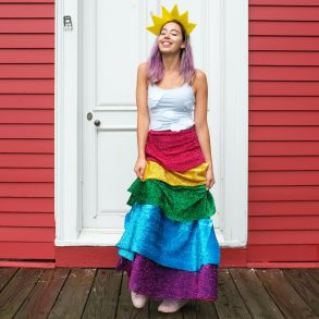 rainbow halloween costume final