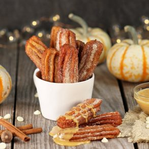 MAIN RECIPE PICTURE PUMPKIN SPICED CHURROS