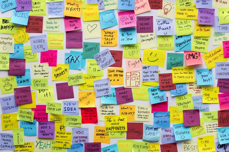 sticky notes productivity expert fi
